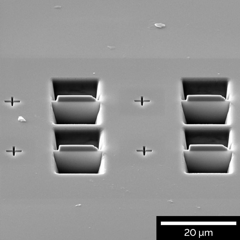 Multiple-site TEM sample preparation